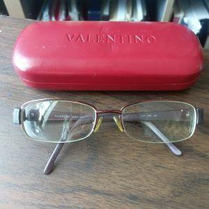 Valentino eyeglasses with case